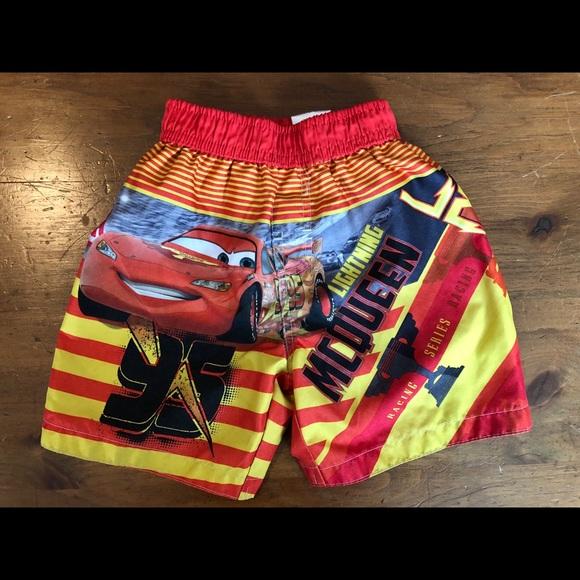 e9cc17d3fb Disney Swim | Boys Lighting Mcqueen Shorts | Poshmark